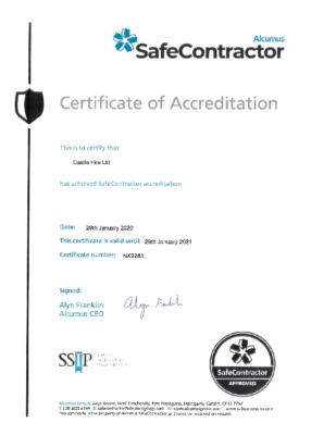 Safe Contractor Jan 2021